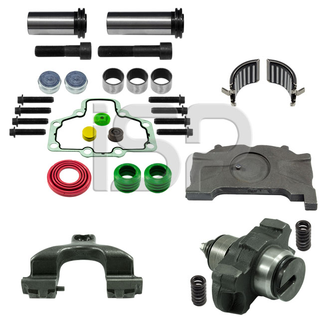 Caliper Complete Repair Set (With Groove) - R
