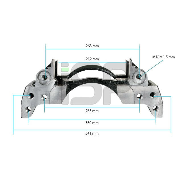 Caliper Carrier - Left - 19.5