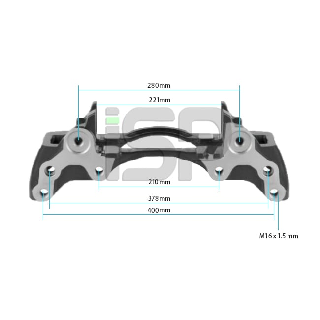 Caliper Carrier - Right 22.5
